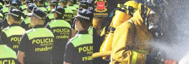 Empleo Público Ayuntamiento de Madrid: Bomberos y Policía Municipal