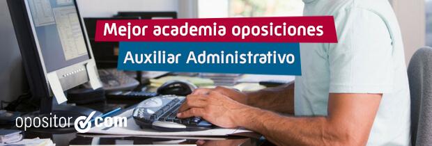 Oposiciones Auxiliar Administrativo MasterD