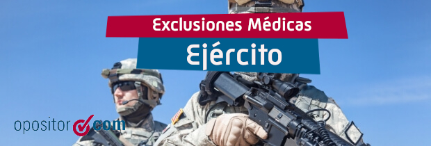 Exclusiones Médicas Oposiciones Tropa y Marinería