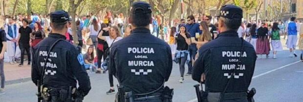 Oposiciones Policía Local Murcia: convocatoria de 64 plazas