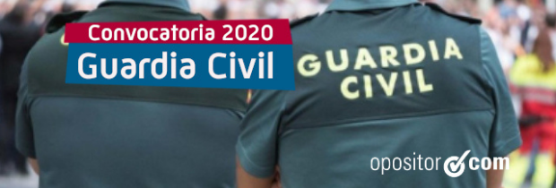 Publicada la nueva convocatoria de Guardia Civil: 2.154 plazas