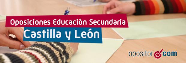 Reanudada la convocatoria de Profesores de Secundaria de Castilla y León