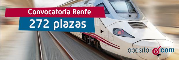 Nueva convocatoria de Renfe: más de 200 plazas de Operador Comercial