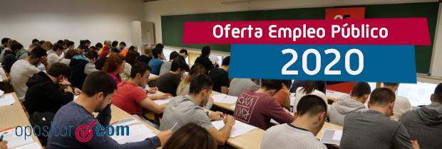 Aprobada la nueva Oferta de Empleo Público de 2020