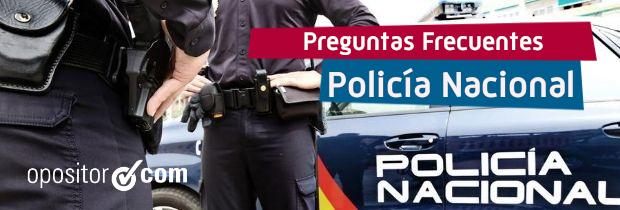 FAQS Policía Nacional