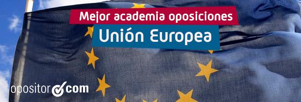 Dónde preparar oposiciones de la Unión Europea