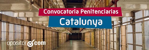 Convocatoria de 255 plazas de Tècnics en Serveis Penitenciaris