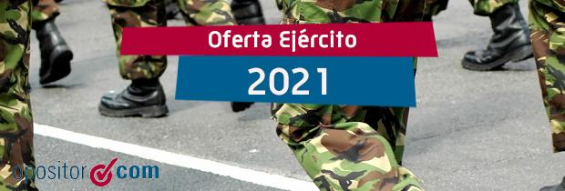 Oferta Ejército 2021