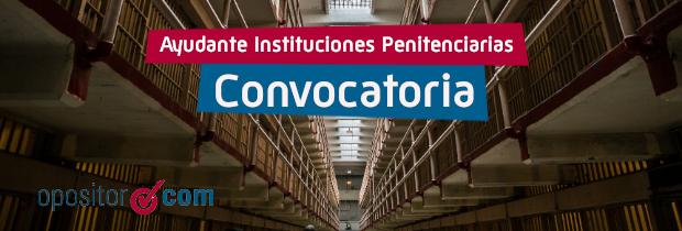 Convocatoria Prisiones