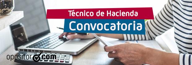 Convocatoria Técnico de Hacienda