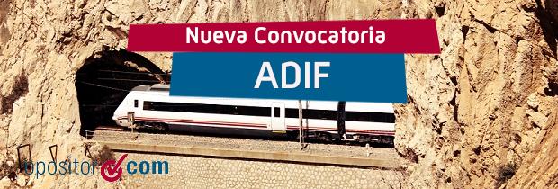Convocatoria ADIF
