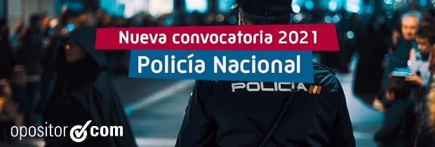Convocatoria Policía Nacional 2021