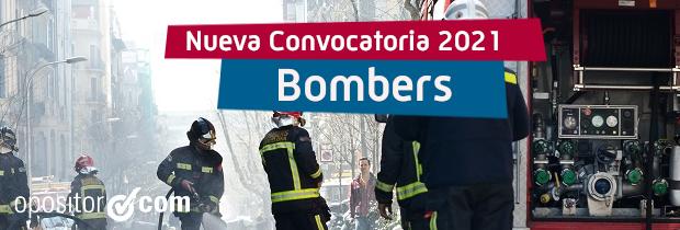 Plazas Bomberos Cataluña