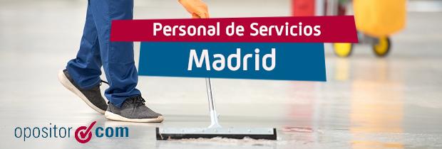 Convocatoria de Personal de Servicios Comunidad de Madrid: ¡Más de 1.000 plazas!