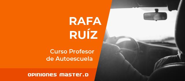 MasterD Málaga. Entrevista a uno de nuestros Alumnos del Curso de Profesor de Autoescuela