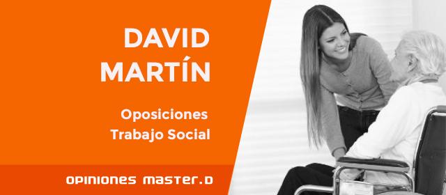Opiniones MasterD: Oposiciones Trabajo Social