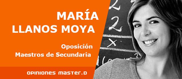 Opiniones Master D Las Palmas, María