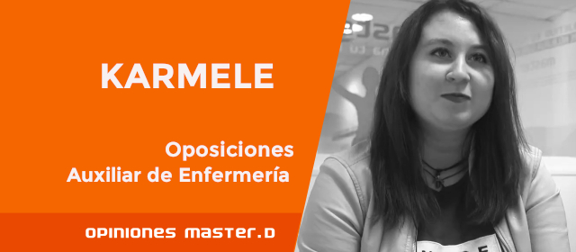 Opiniones Master D Bilbao, Karmele
