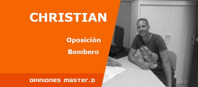 Opinión Christian de MasterD Las Palmas