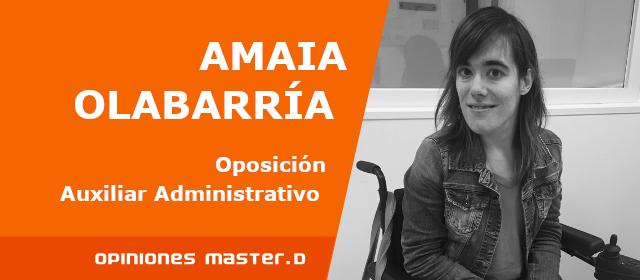 Opiniones Master D Bilbao, Amaia