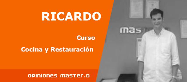 Opiniones Master D: Ricardo, alumno de Master D Oviedo<