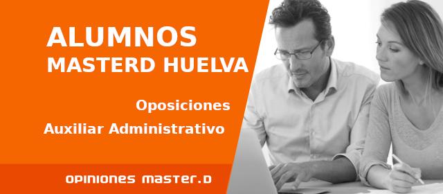 Opiniones MasterD Huelva | Oposiciones Auxiliar Administrativo