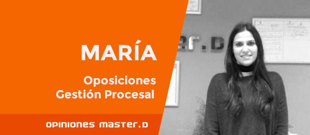 Opiniones MasterD Oviedo | Oposiciones Gestión Procesal