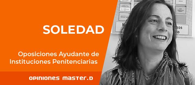 Soledad Ayudante Instituciones Penitenciarias MasterD Sevilla