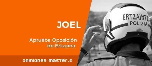 Opiniones Ertzaintza MasterD