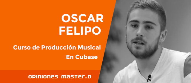 Curso de Producción Musical: opinión de Óscar