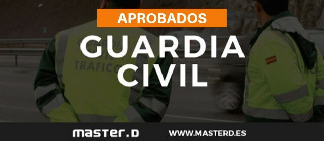 Aprobados MasterD Guardia Civil