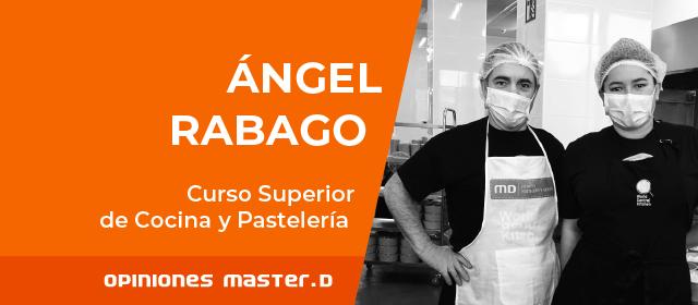 Ángel, alumno de MasterD, trabaja como voluntario en la ONG del chef José Andrés<