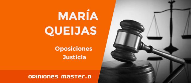 aprobar oposiciones justicia