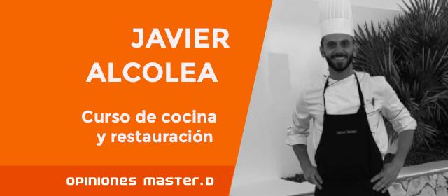 Javier realiza sus prácticas en un restaurante con tres Estrellas Michelín <
