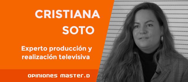 Cristiana trabaja como productora en el Gran Teatro Príncipe Pío