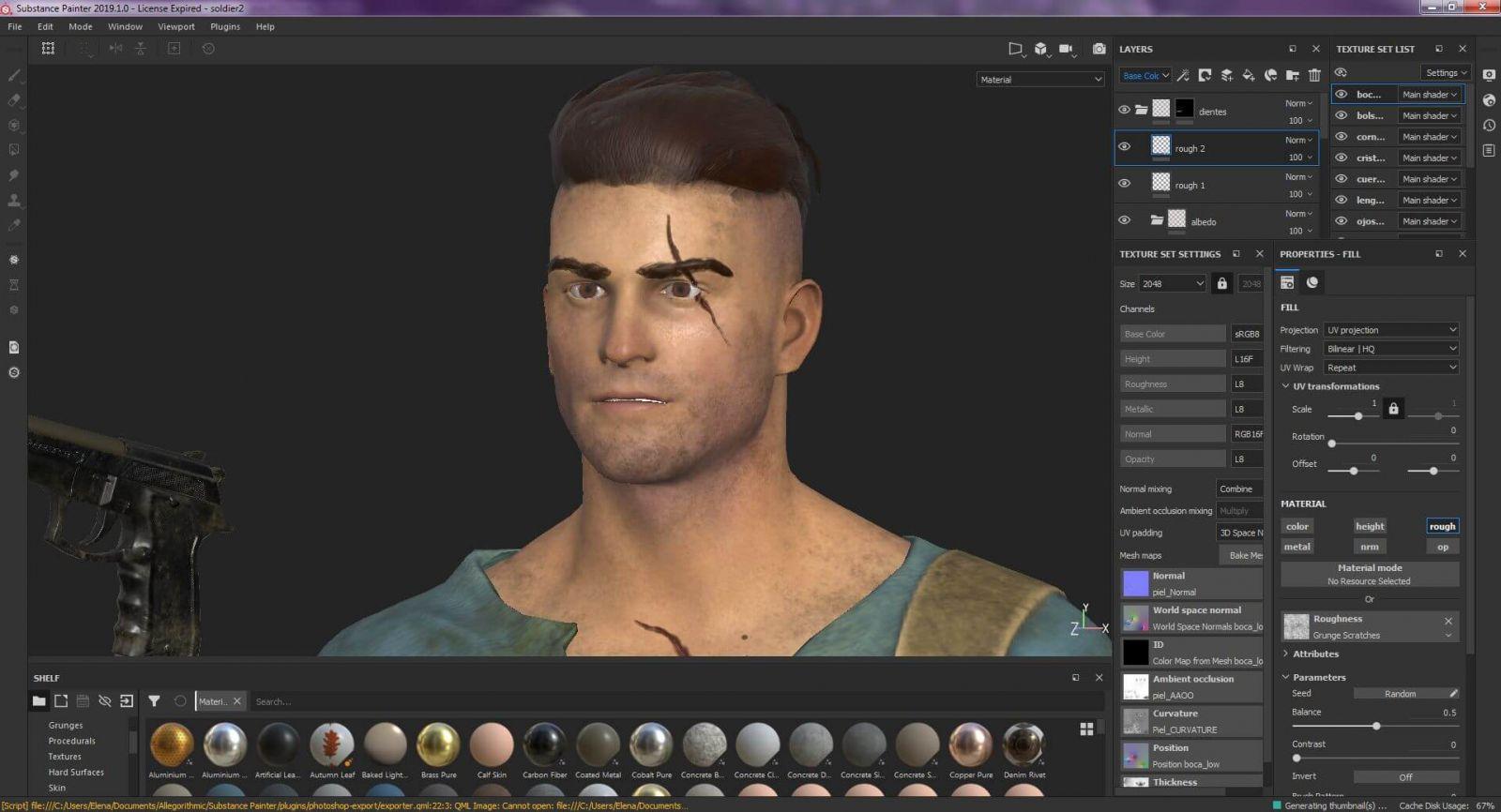 Aprende a texturizar en 3D