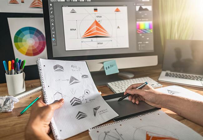 Programas utilizados nos Cursos Design Gráfico